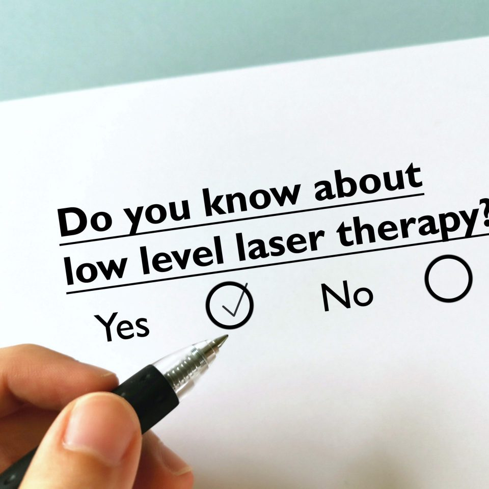 about low level laser therapy